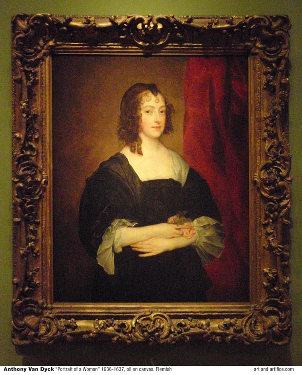 Anthony Van Dyck Portrait of a Woman