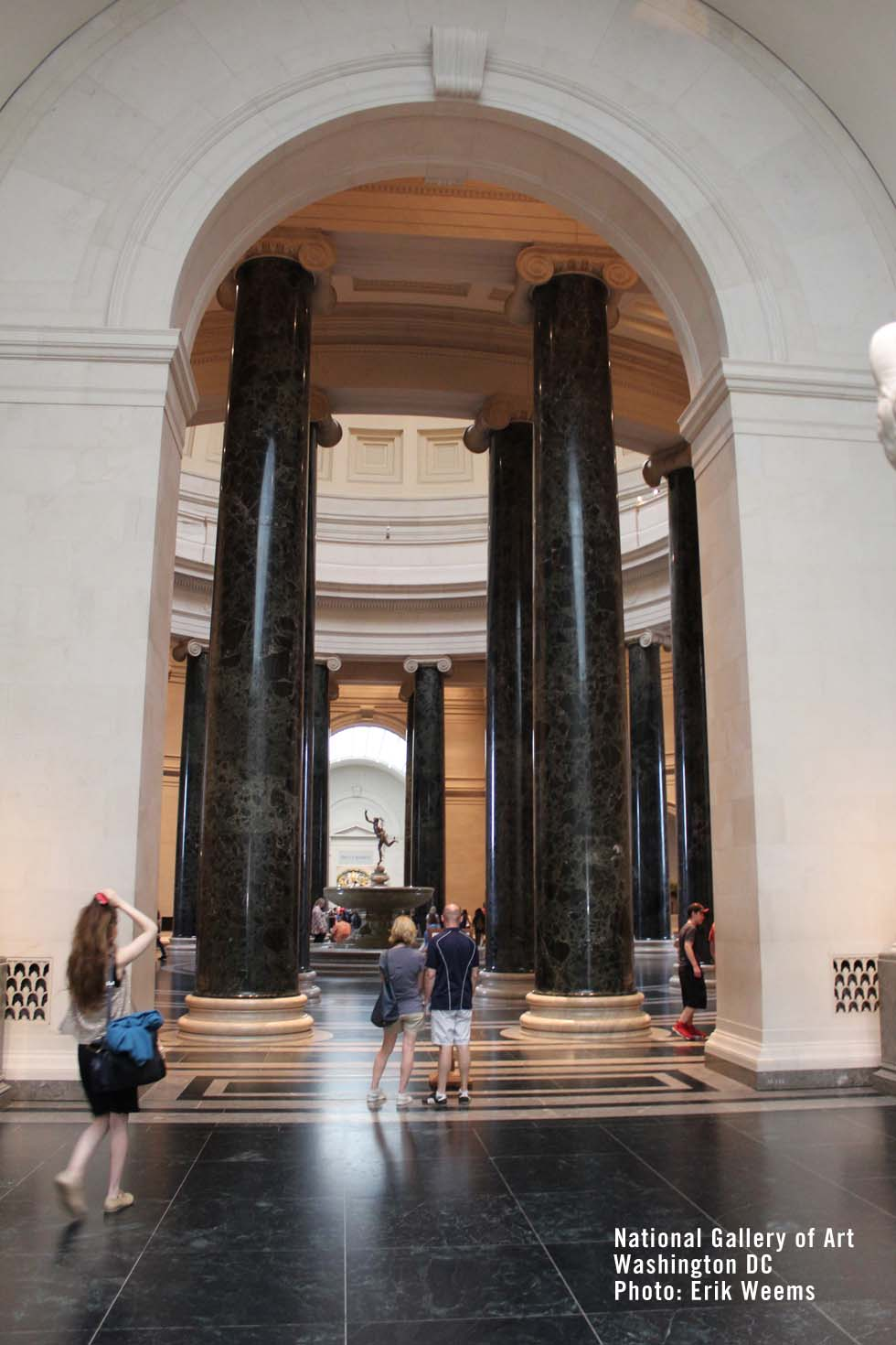 Enlarged - the Marble of the National Gallery