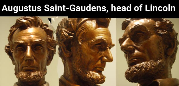 Saint Gaudens Head of Lincoln
