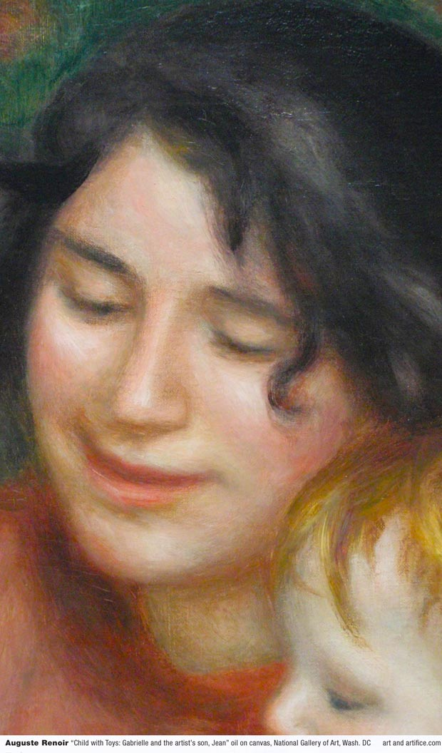 Auguste Renoir-Child with Toys - Detail 4